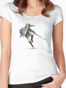 Link style Women's Fitted Scoop T-Shirt
