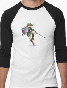 Link style Men's Baseball ¾ T-Shirt