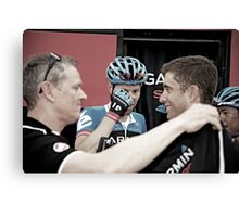 Winning Team Garmin Canvas Print
