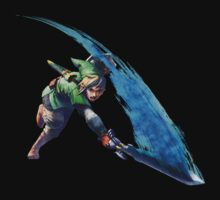 Link with sword 2 One Piece - Short Sleeve