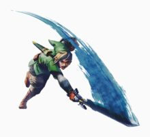 Link with sword 2 by Hyruler