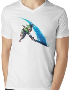 Link with sword 2 Mens V-Neck T-Shirt