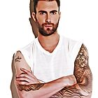 Adam Levine - Pop Art by wcsmack