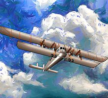 Sikorsky Ilya Muromets -  the World's First  Four Engine Passenger Plane/ Heavy Bomber by Dennis Melling