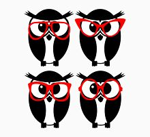 Owls with glasses Unisex T-Shirt