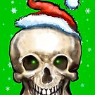 Christmas Skull by Kevin Middleton