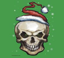 Evil Christmas Skull Kids Clothes