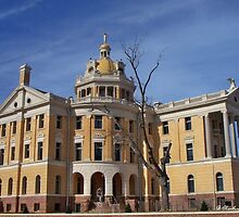 Romanesque - Architectural design of Marshall, Texas courthouse by Betty Northcutt