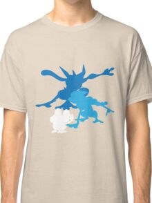 Froakie Frogadier Greninja Classic T-Shirt