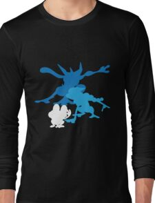 Froakie Frogadier Greninja Long Sleeve T-Shirt