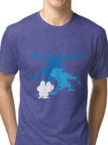Froakie Frogadier Greninja Tri-blend T-Shirt