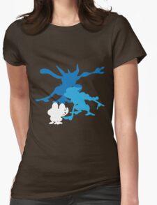 Froakie Frogadier Greninja Womens Fitted T-Shirt