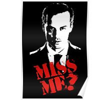 Sherlock - Miss Me (Moriarty) Poster