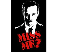 Sherlock - Miss Me (Moriarty) Photographic Print
