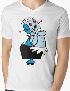 Rosie Jetsons Mens V-Neck T-Shirt