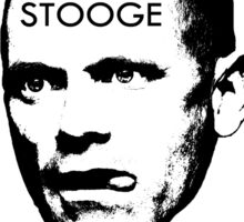 The Newman Stooge Sticker