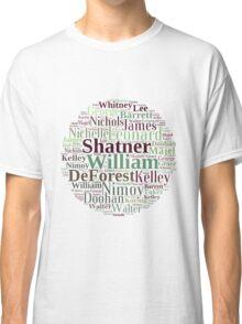 ST-TOS Cast Classic T-Shirt