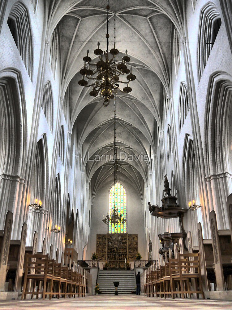 St. Canute's Cathedral  (1) by Larry Lingard-Davis