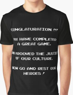 Conglaturation !!! Graphic T-Shirt