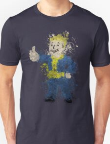 Fallout - Painted Dirty Vault Boy T-Shirt