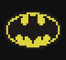 Batman Pixels Logo by D4RK0