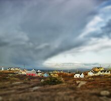 Peggys Cove Nova Scotia Canada by Shawna Mac