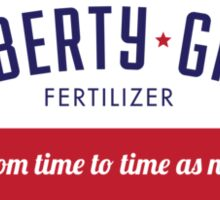 Liberty-Gro. Get More Liberty. Faster. Sticker