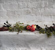 St. Canute's Cathedral  (2)  Still Life but living. by Larry Lingard-Davis