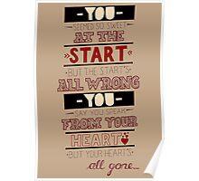 Blink 182 - Heart's all gone (Part 2) Poster