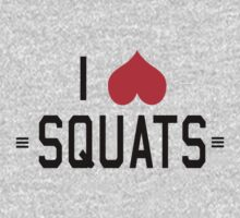 I love squats by workout