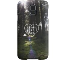 Katniss & Peeta <3 - Forest (personalisation available) Samsung Galaxy Case/Skin