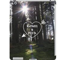 Katniss & Peeta <3 - Forest (personalisation available) iPad Case/Skin