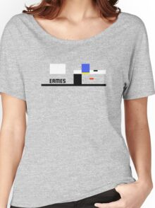Eames House Abstract Architecture T-shirt Women's Relaxed Fit T-Shirt