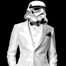 Sharp Dressed Stormtrooper Phone by David Ayala