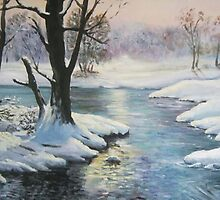 Winter Landscape by Marion Clarke