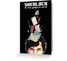 Sherlock: the game is on Greeting Card