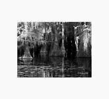 Dark Water - Caddo Lake near Uncertain, Texas T-Shirt