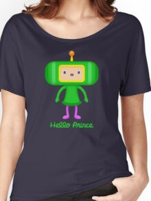 HELLO PRINCE Women's Relaxed Fit T-Shirt