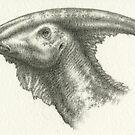 _Parasaurolophus_ by Himmapaan