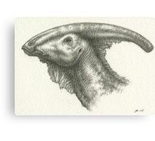 _Parasaurolophus_ Canvas Print