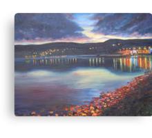 Twilight on Carlingford Lough Canvas Print
