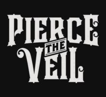 Pierce The Veil logo (white) by MinecraftERR0R