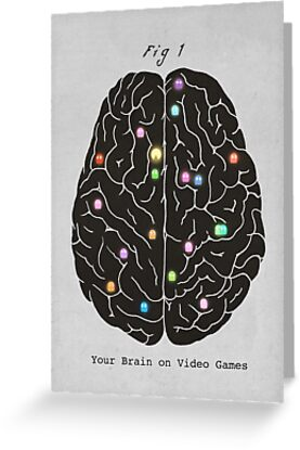 Your Brain On Video Games  by Terry  Fan
