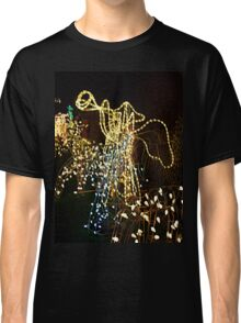 Angel with Trumpet Lights Display Classic T-Shirt