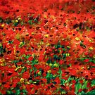 Poppies #1 by Wayne Gerard Trotman