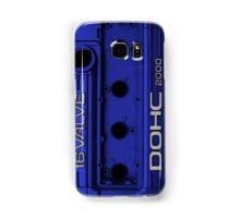 Mitsubishi Valve Cover 4G63 Blue (Samsung)  Samsung Galaxy Case/Skin
