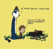 Doctor Calvin and Hobbes by AndyRuffles