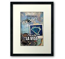 Santa La Vida Framed Print