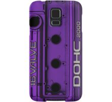 Mitsubishi Valve Cover 4G63 Purple (Samsung Case) Samsung Galaxy Case/Skin