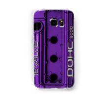 Mitsubishi Valve Cover 4G63 Purple (Samsung Case) Samsung Galaxy Case/Skin